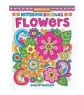 Design Originals Notebook Doodles Flowers Coloring Book