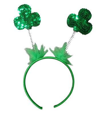 St. Patrick's Day 10''x8.5'' Shamrocks Headband