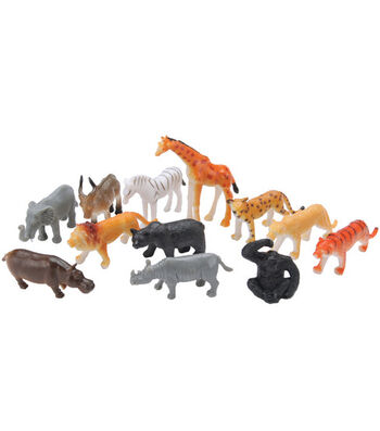 Amscan Party Favors-12PK/Jungle Animals