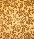 Home Decor 8\u0022x8\u0022 Fabric Swatch-Upholstery Fabric Barrow M7352 5146 Gild