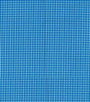 Made In America Cotton Fabric 44''-Blue Gingham, , hi-res