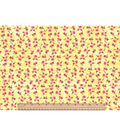 Two Daughters™ Cotton Fabric 43\u0022-Tiny Floral Yellow