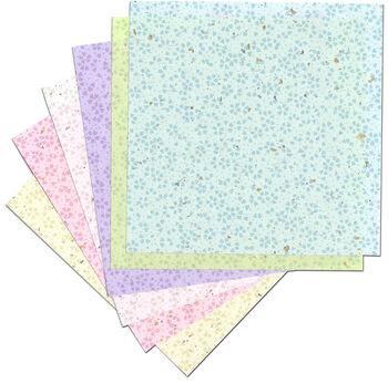 Yasutomo® Fold'ems 18 pk 5.88'' Origami Papers-Hana Fubuki