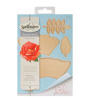 Spellbinders® Shapeabilities® Etched Die-Ruffled Flowers, , hi-res