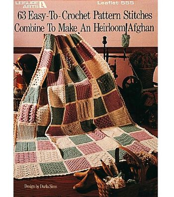 Easy-To-Crochet Pattern Stitches