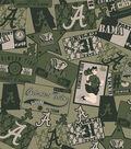 University of Alabama Crimson Tide Cotton Fabric 44\u0022-Real Camo