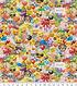 Emoji Cotton Fabric 44\u0027\u0027-Party Packed