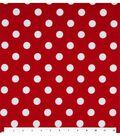 Keepsake Calico™ Cotton Fabric 44\u0027\u0027-Large Dots On Lipstick