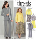 Simplicity Patterns Us1944U5-Simplicity Misses\u0027 Jacket In Two Lengths With Neckline Varia-16-18-20-22-24