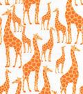 Nursery Cotton Fabric 43\u0022-Giraffe