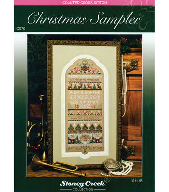 Stoney Creek Counted Cross Stitch Chart Packs Christmas Sampler