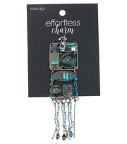 hildie & jo™ Effortless Charm Antique Silver Tassel, , hi-res