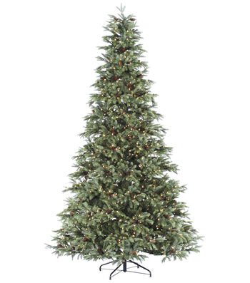 Bloom Room 7' New England Pine Pre-Lit Christmas Tree