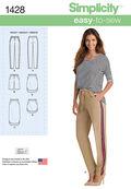 Simplicity Pattern 1428H5 6-8-10-12--Misses Skirts Pants