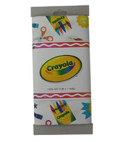 Riley Blake© Crayola® Fabric 1yd Cut-Main Print White, , hi-res
