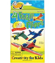 Creativity for Kids Kit-4 Foam Fliers, , hi-res
