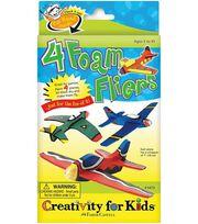 Creativity for Kids Kit-4 Foam Fliers, , hi-res