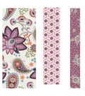 Buttercream™ Elizabeth Collection Fabric Tape-Paisley Blossom
