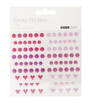 Kaisercraft Epoxy Dots & Shapes Stickers, , hi-res