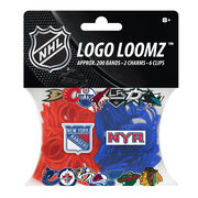 New York Rangers Logo Loomz Filler Pack by Forever Collectibles, , hi-res