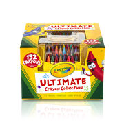Crayola Ultimate Crayon Collection W/Sharpener And Caddy-152pc, , hi-res