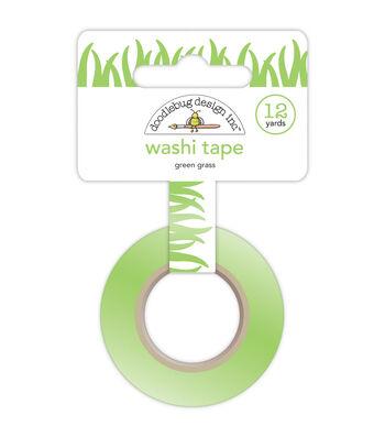 Doodlebug Sunkissed Green Grass Washi Tape