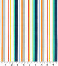 Nursery Cotton Fabric-Bright Stripe