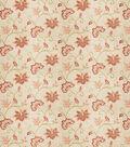 Eaton Square Print Fabric 53\u0022-Finale/Coral