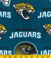 "Jacksonville Jaguars Fleece Fabric 58""-Teal, , hi-res"