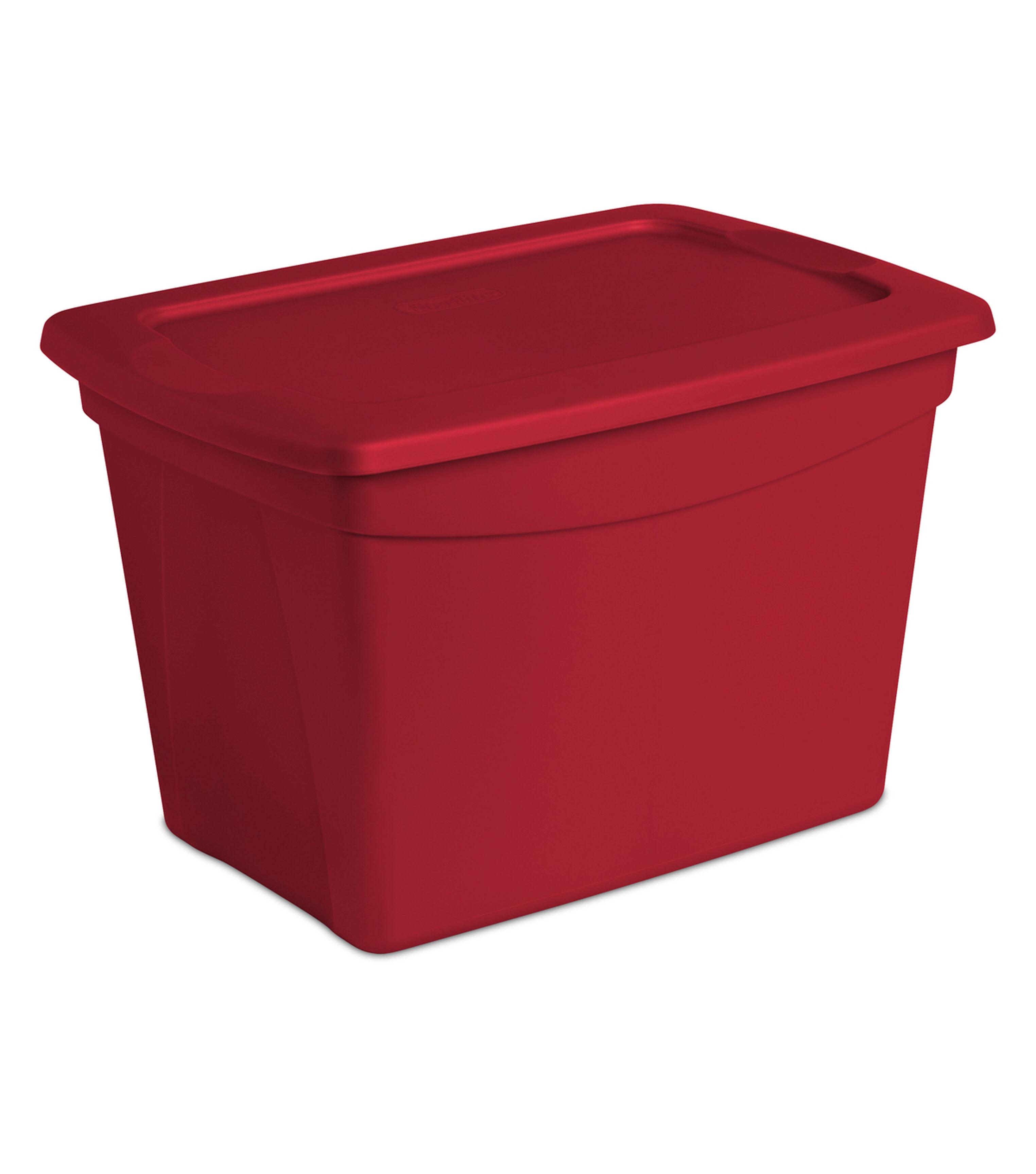 Tote Storage Box 10 Gallon