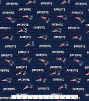 """New England Patriots Cotton Fabric 58""""-Mini Print, , hi-res"""