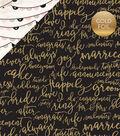 Wedding Bliss Foiled Cardstock 12\u0022X12\u0022-Forever & Always