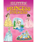 Dover Publications-Glitter Princess Stickers