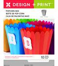 Momenta 10 pk 4\u0027\u0027 Design & Print Popcorn Boxes