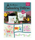 Aunt Martha\u0027s Iron-On Transfer Books- Flowers and Butterflies