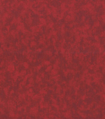 "Keepsake Calico™ Cotton Fabric 44""-Red Marble"