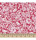 Springmaid® Premium Cotton Fabric 44\u0022-Meadow Street Scroll
