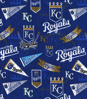 "Kansas City Royals Cotton Fabric 58""-Vintage, , hi-res"