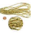 Blue Moon Beads Seed Bead Hank, Metallic Gold, Multi-Sizes