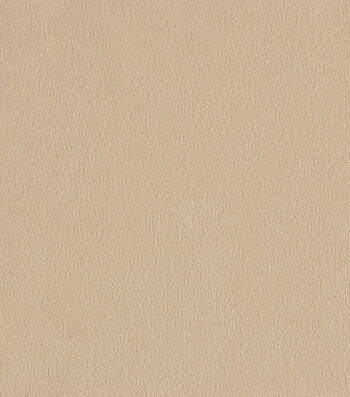 "Crypton Solid Fabric 54""-Suede Champagne"