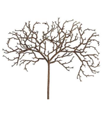 """Bloom Room 18"""" African Twig Spray-Brown"""
