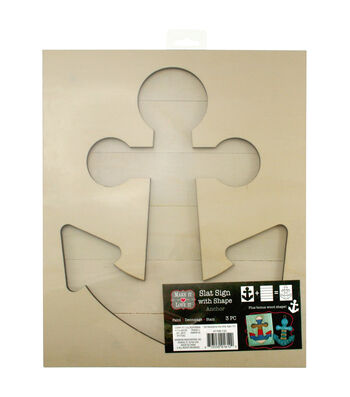 Make It Love It™ Slat Sign with Shape Anchor