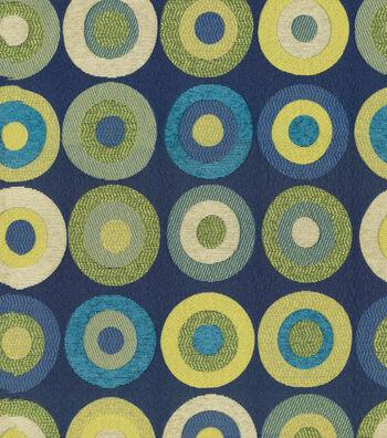 "KAS Print Fabric 57""-Kellam Navy"