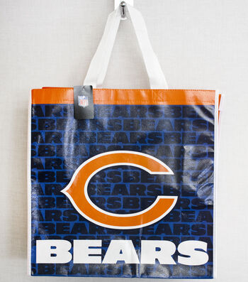 Chicago Bears NFL Reusable Tote Bag by Fabric Traditions
