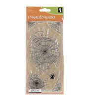 Inkadinkado® Clear Stamps-Spider Webs, , hi-res