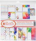 Ella & Viv Collection Kit 12\u0022X12\u0022-Watercolor Party