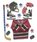 Jolee\u0027s Boutique® 7 pk Dimensional Stickers-Ice Hockey