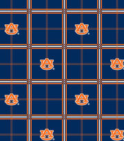 "Auburn University Tigers Flannel Fabric 42""-Plaid, , hi-res"