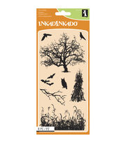 Inkadinkado® Clear Stamps-Haunted Fields, , hi-res
