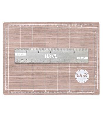 Mini Magnetic Cutting Mat & Ruler Set-